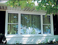 For U Builders Picture Window with 2 Flankers (Double Hung Windows)