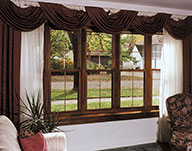 Double Hung Picture Windows