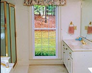 Double Hung Bathroom Windows