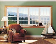 Bay Double Hung Picture Window