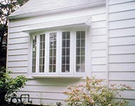 Bowed Vinyl Window