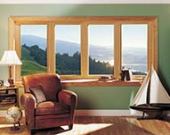 Wooden Bay Windows