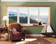 Living Room Custom Bow Windows