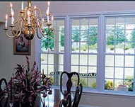 SG9000 Double Hung windows and Interior Painting of window trim