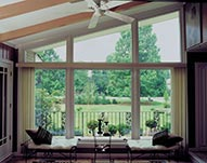 Custom Energy Efficient Living Room Windows