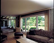Living Room Vinyl Windows