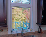 Custom Designer Vinyl Windows