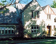 Casement Windows with Colonial Contour Grids