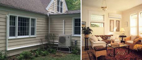 Ductless Heating & Cooling system for your home