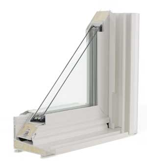 Heat Mirror Glass