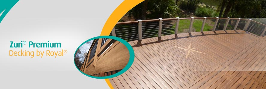 Zuri® Premium Decking by Royal® in Connecticut & New England